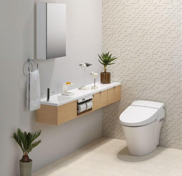 最新式のトイレに入れ替え清潔に