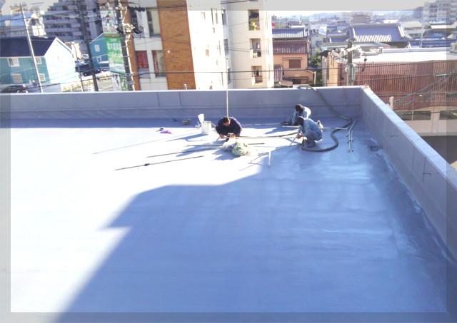 屋上やベランダの防水シートの役割